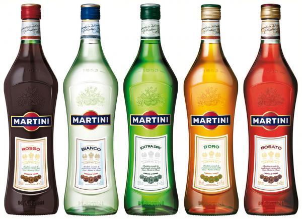 Martini vermut 5 vrsta